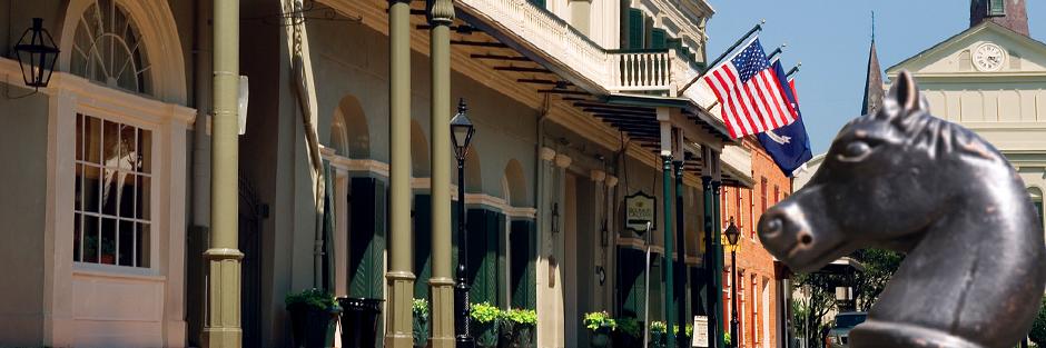 Bourbon orleans hotel exterior daytime hero
