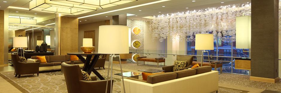 Hotel at arundel preserve lounge area hero