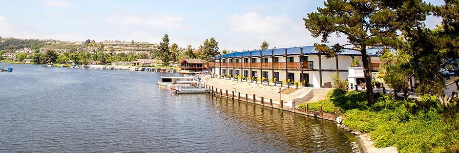 Lakeshouse hotel and resort dock hero