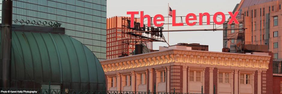 Lenox hotel neon sign hero