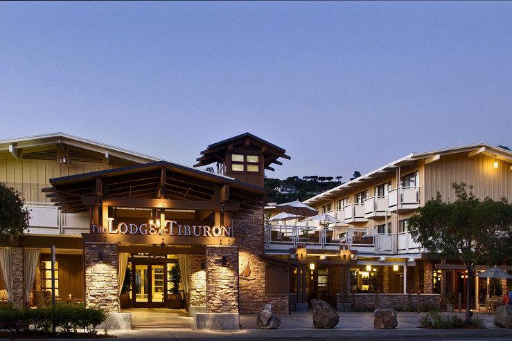 Lodge at tiburon exterior at dusk 5 hpg
