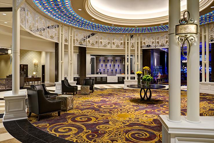 Saratoga casino hotel lobby hpg