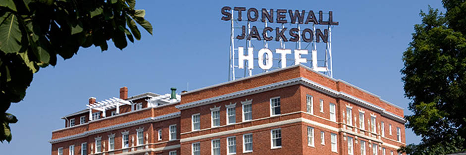 Stonewall jackson hotel and conference center exterior 3 hero