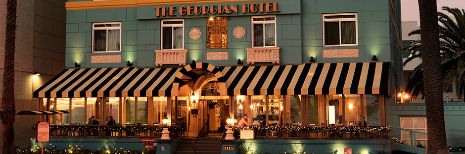 The georgian hotel about hero