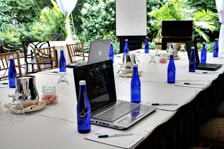 The olde mill inn business meeting setup hpg